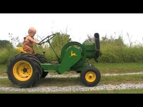 Little Green Tractor