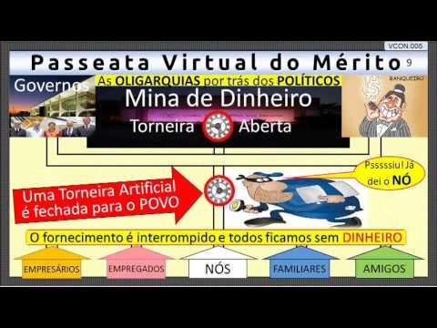 VCON.005 - A Mina de Dinheiro e o NÓ da CORRUPÇÂO