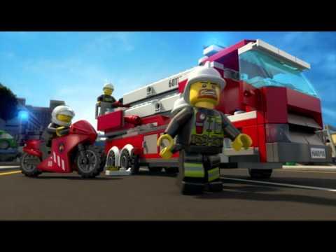 Lego City Hasiči: Všetci zasahujú