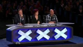 Dude Blows His Nuts Up On America's Got Talent (Genital