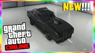 "GTA 5 Online: NEW ""DUKE O' DEATH"" Rare Car! NEW Rare Cars"
