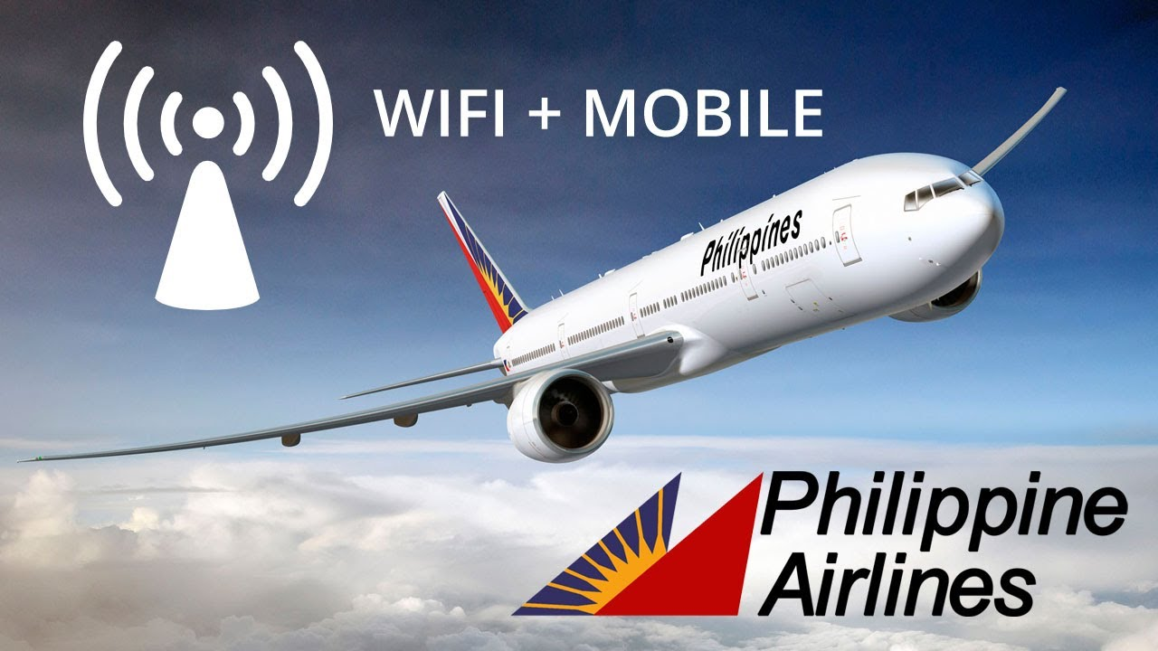 Philippine Airlines Introduces In Flight Wifi And Mobile
