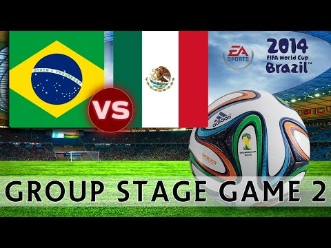 [TTB] 2014 FIFA World Cup Brazil - Brazil Vs Mexico - Group Stage Game 2 - Ep2