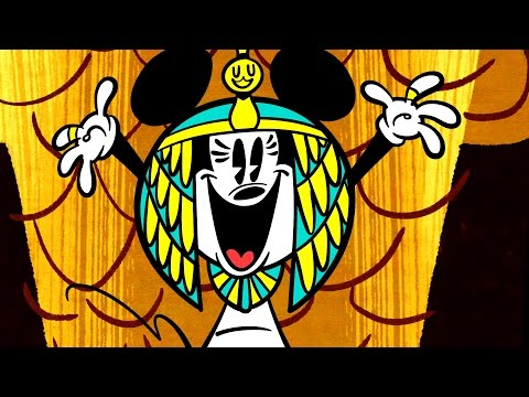 Mickey mouse - Hrobka