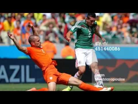 Netherlands 2 Mexico 1 All Goals & Highlights World Cup 2014