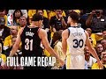 TRAIL BLAZERS vs WARRIORS   Steph Gets Hot From Deep   Game 1
