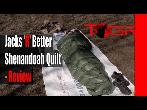 Jacks 'R' Better Shenandoah Quilt - Review
