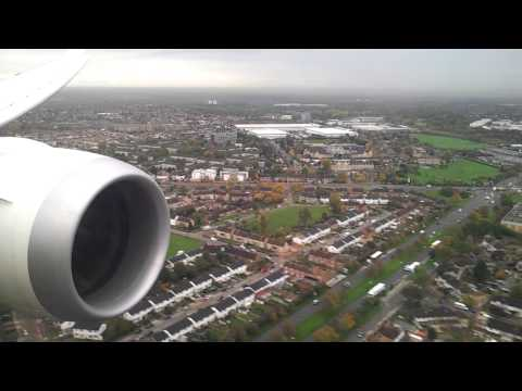 Air India - AI115, VT-ANL, B787 Dreamliner Landing at London Heathrow Airport