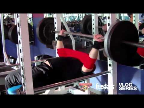 BARRY ANTONIOW VLOG SERIES EPISODE #1: 6 WEEKS OUT FROM THE 2012 ARNOLD CLASSIC