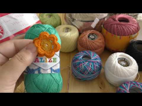 Yarn for Irish crochet lace