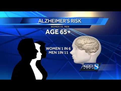 Study: Alzheimer's much more likely in women