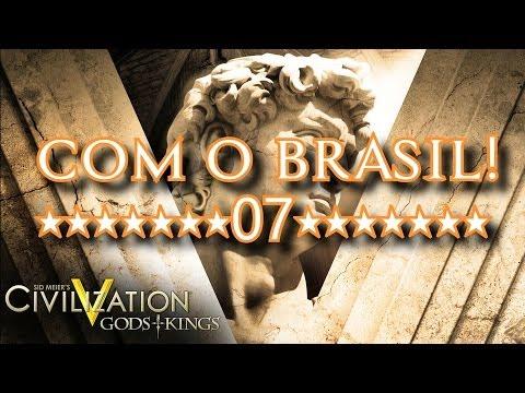 Civilization 5 Com O Brasil