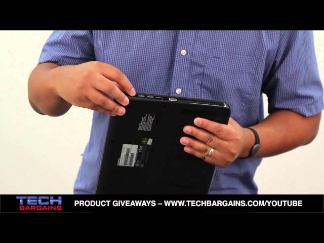 Toshiba Satellite L55DT-A5253 Unboxing (HD)