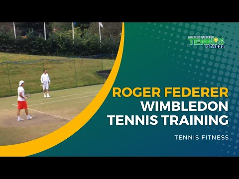 Roger Federer Training For Another Wimbledon Title
