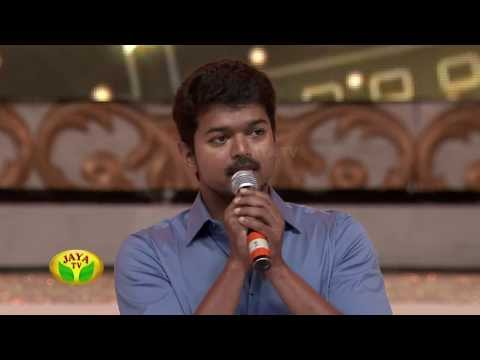 Actor Vijay's Speech About Action Sequence In 100 Year Indian Cinema Celebration by Jaya Tv