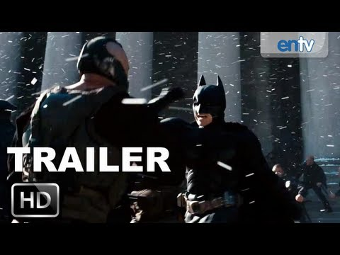 The Dark Knight Rises Official Trailer 3 [HD]: New Footage, Catwoman, Bane & The Flying Tumbler