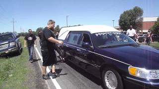 comments on Hearse burnout for Tyler (Flip) - Street Outlaws - YouTube