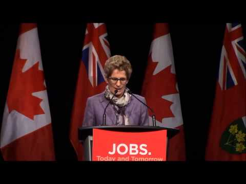 Premier Kathleen Wynne Speaks at Port Hope and District Chamber of Commerce AGM