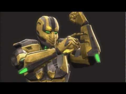 Mortal Kombat 9 Ryona Cyrax nothing but net fatality Jade Sindel Skarlet Mileena Sonya Blade Kitana