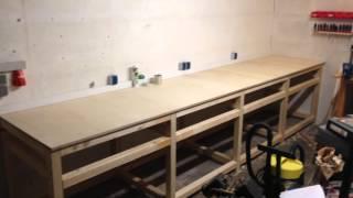 zusammenbau holzb cke arbeitsb cke holzbock profi. Black Bedroom Furniture Sets. Home Design Ideas