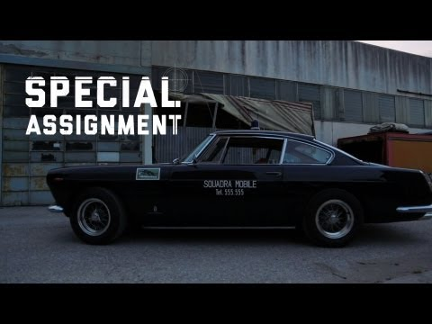 The 1962 Ferrari 250 GTE police car is beyond wonderful