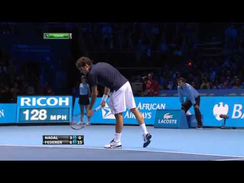 2011 London Federer Nadal HIGHLIGHTS