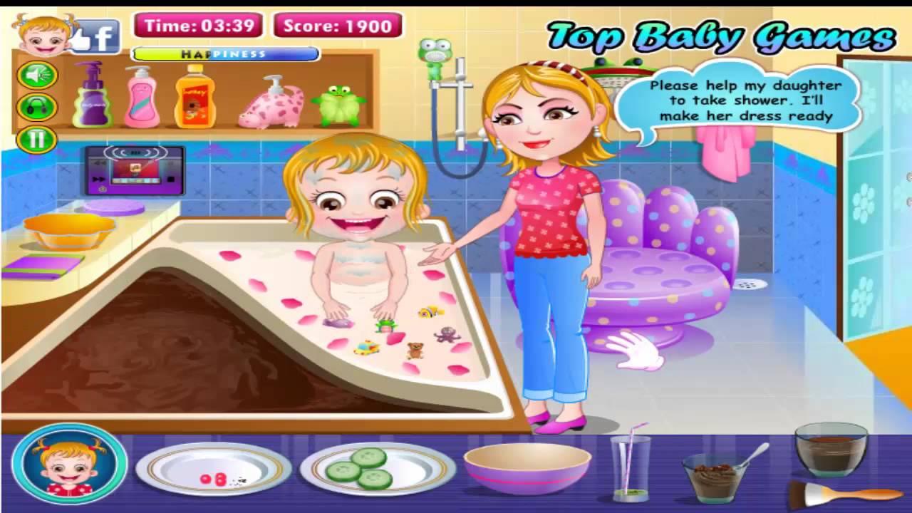 baby hazel royal bath best baby games best 2014 movie gamehd youtube. Black Bedroom Furniture Sets. Home Design Ideas