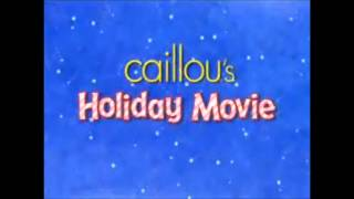 Caillou's Holiday Movie Intro Loop (5 Minutes)