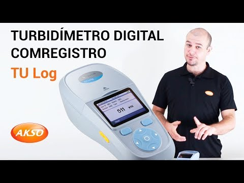 Turbidímetro Digital com Registro - TU Log