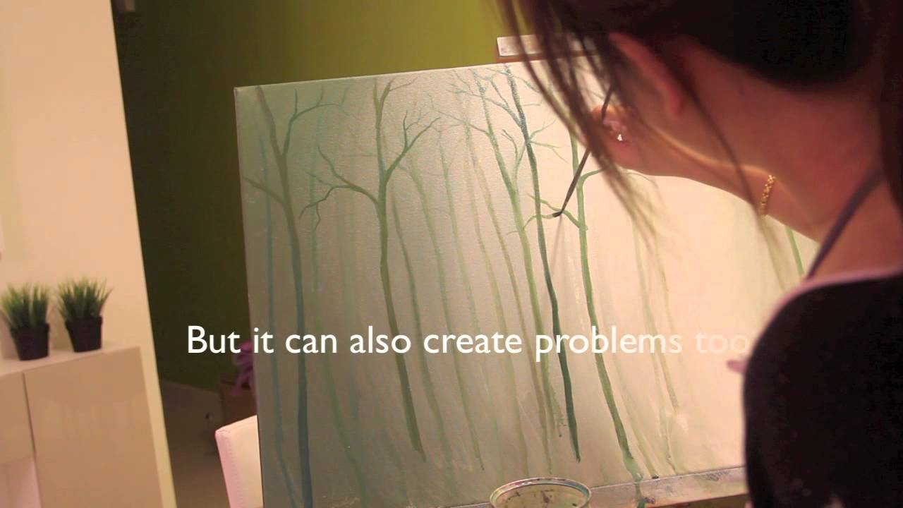 paint the forest with me youtube