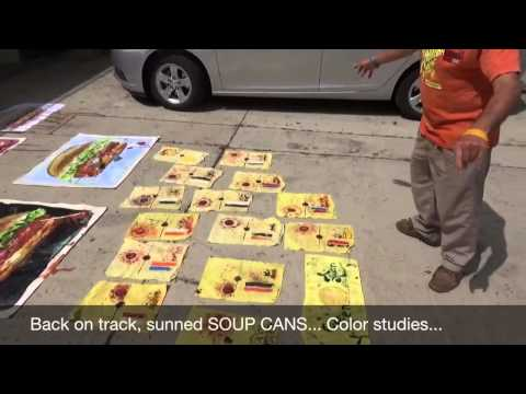 Fukushima breaking news; Painting with tomato soup, WITH A conscious HOPE kevin D. blanch 6/22/14