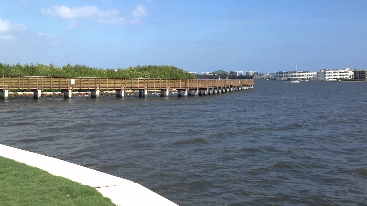 new fishing pier in lake worth fl youtube