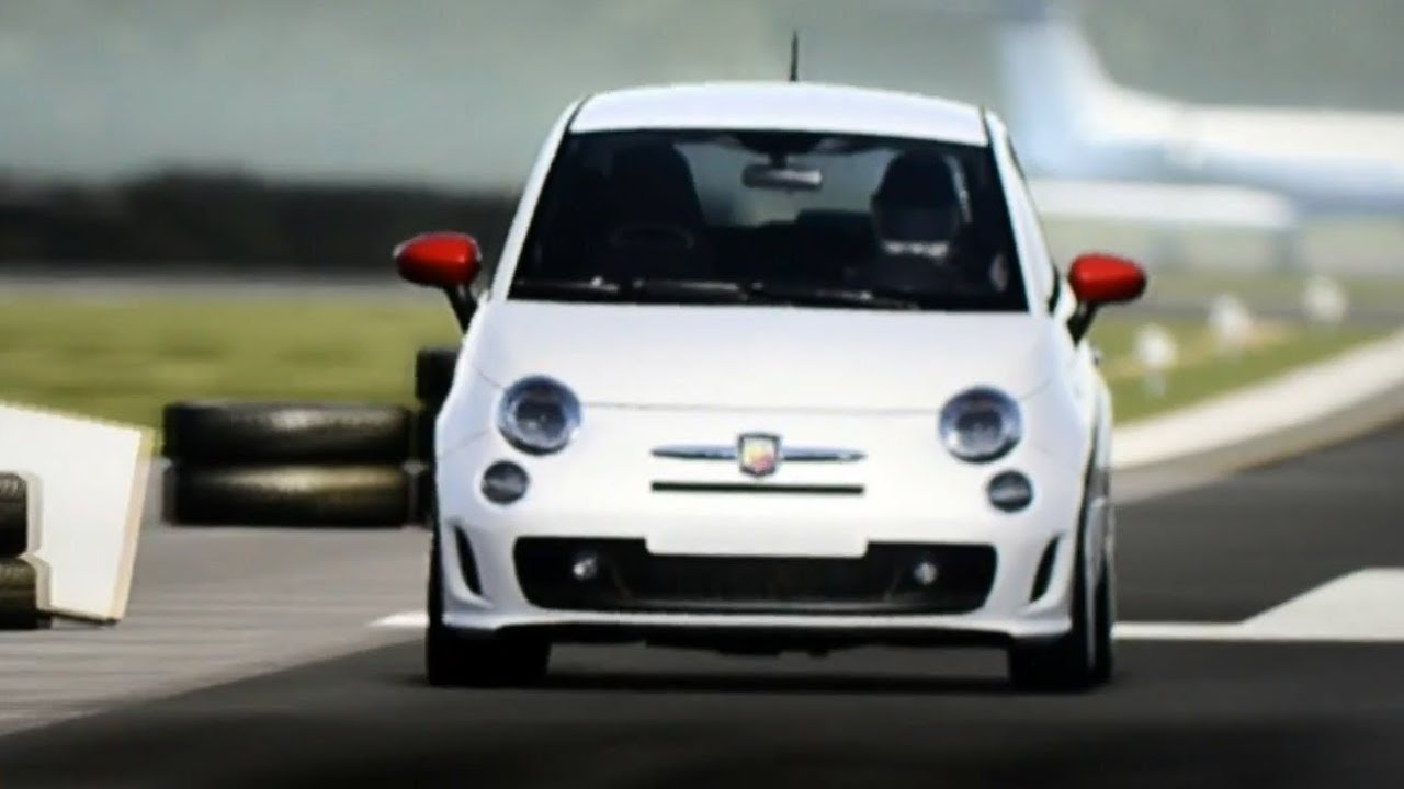 Top Gear Test Track Fiat 500 Abarth Youtube