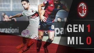 Genoa-AC Milan 1-0 | AC Milan Official