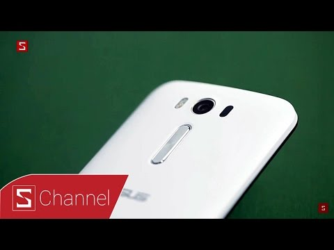 Schannel - Mở hộp và đánh giá nhanh Zenfone 2 Laser: Lấy nét siêu nhanh, giá siêu hấp dẫn
