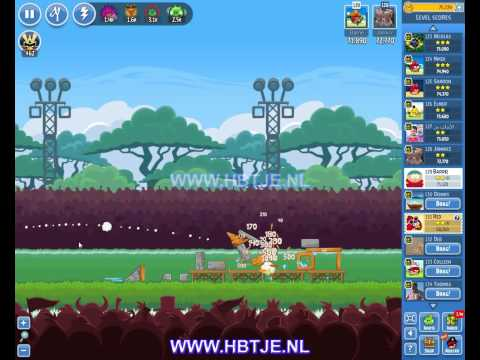 Angry Birds Friends Tournament Level 5 Week 123 (tournament 5) no power-ups