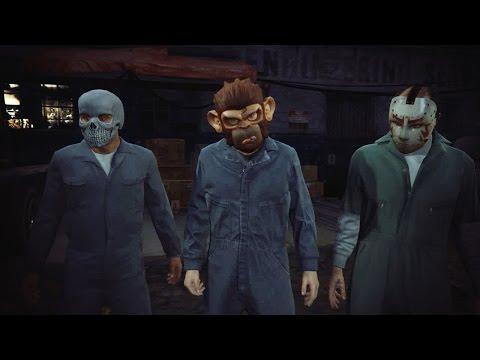 GTA V - Tập 18: Khỉ bắn nhau  [Cướp Đường Phố 5]