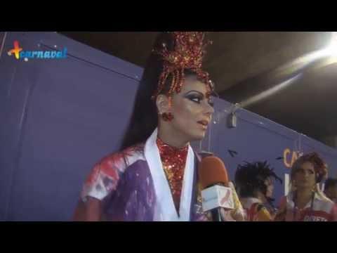 Carnaval 2015    Viviane Araújo comemora 20 anos de Sapucaí desfilando pelo Salgueiro