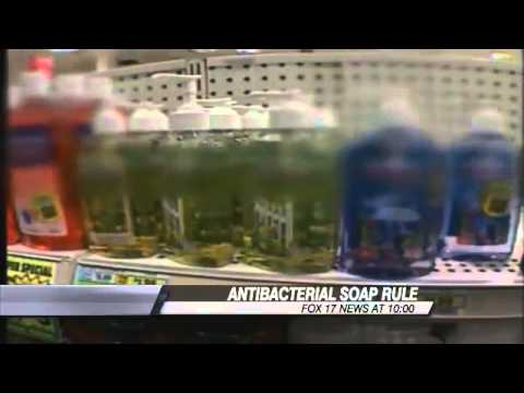FDA seeks tougher rules on antibacterial soaps