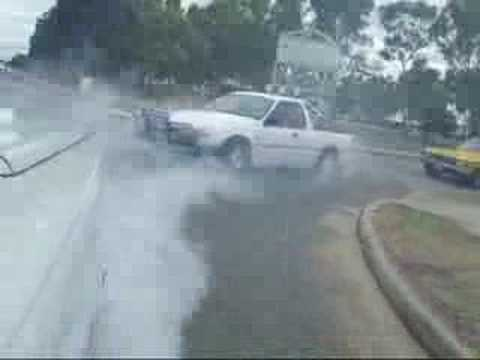 vy ute burnout