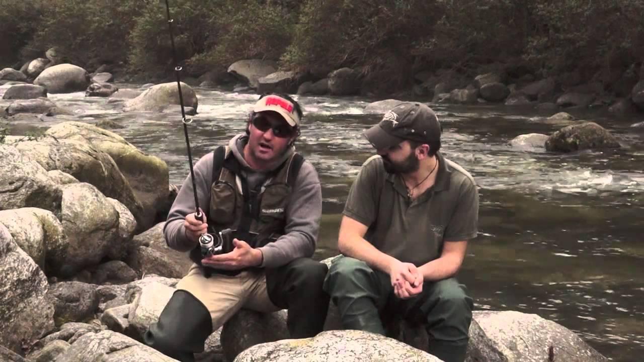 Pesca a Spinning con Shimano
