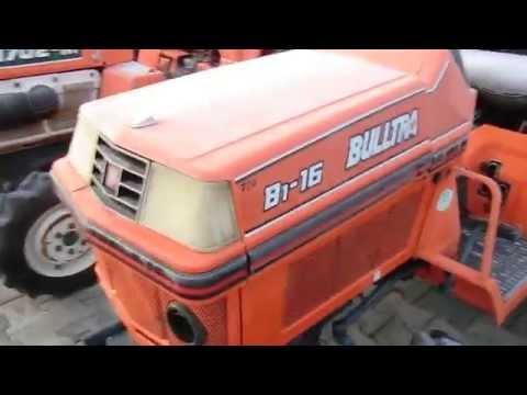 Mini traktory japońskie marki KUBOTA. www.akant-ogrody.pl