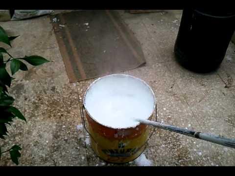 Reaccion de la cal al agua youtube - Quitar cal del agua ...