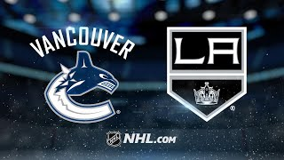 Nilsson, Canucks defeat Kings, 3-2