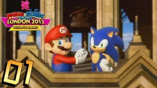 Mario And Sonic At The London 2012 Olympic Games: Part 1