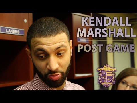 Lakers Vs. Thunder: Kendall Marshall With Another Career-High Game