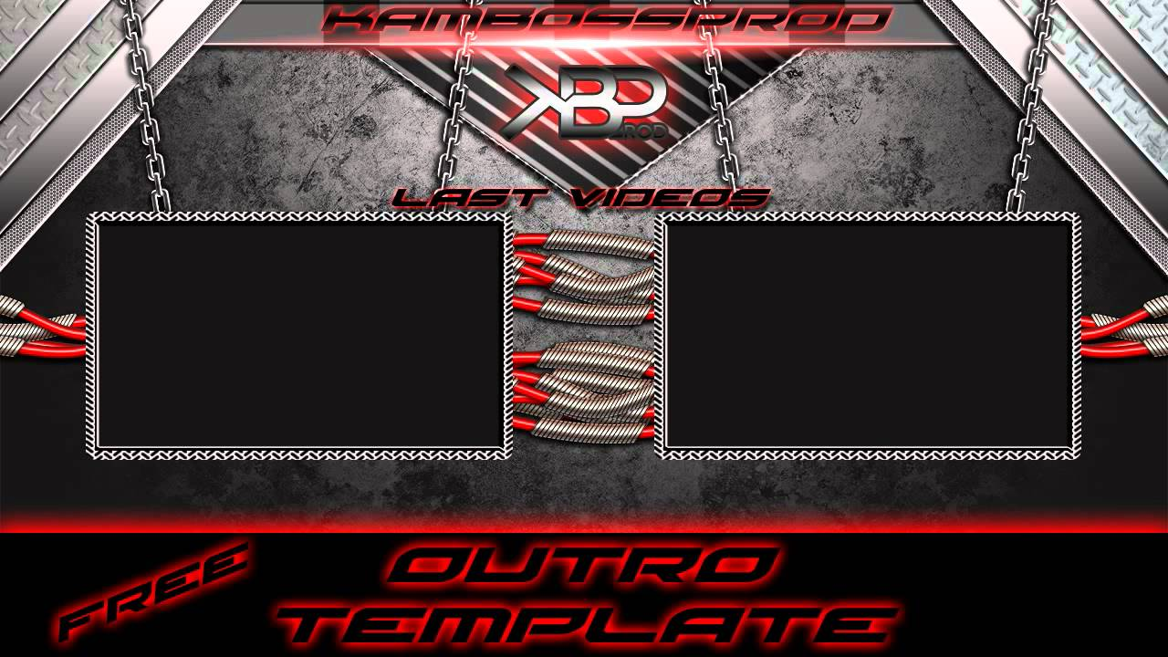 Free outro template after effect by kbp youtube for Blank outro template