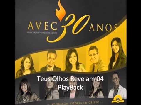 AVEC - Teus Olhos Revelam Play Back - CD AVEC 30 anos