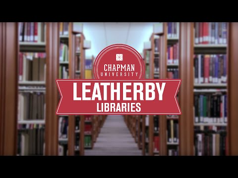 Leatherby Libraries: A comprehensive research library