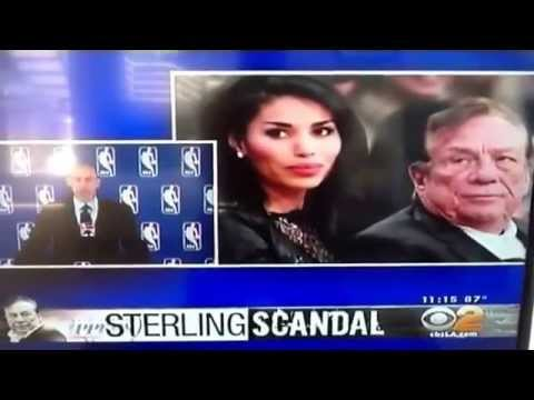 Donald Sterling Banned for Life and Fined Adam Silver